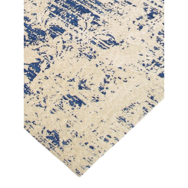Modern Hand Tufted Microfiber Rug - 4' x 6' - Image 3 of 5