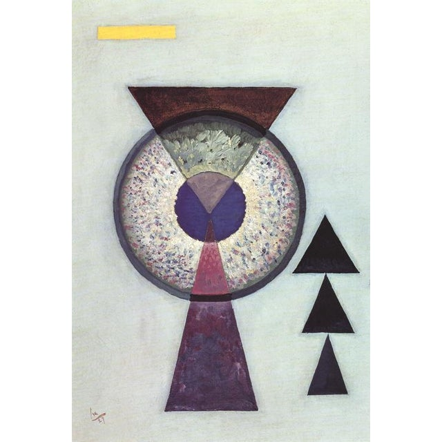 """Abstract """"Soft Hard"""" Wassily Kandinsky Lithograph For Sale - Image 3 of 5"""