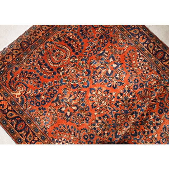 1920s, Handmade Antique Persian Sarouk Rug For Sale In New York - Image 6 of 13