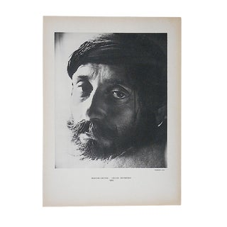"Vintage Mid 20th C. Double Sided Photogravure From Verve-""Shepherds"" by Herbert List For Sale"