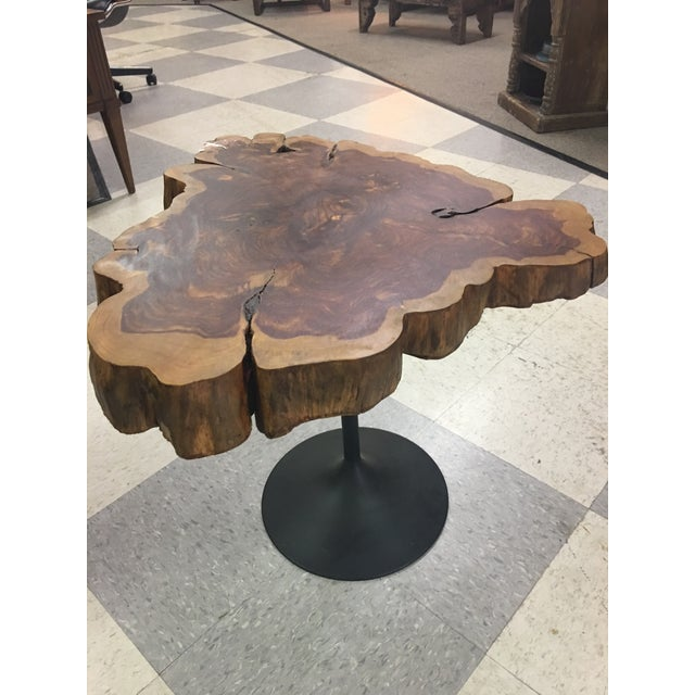 Live Edge Table on Tulip Base - Image 3 of 5