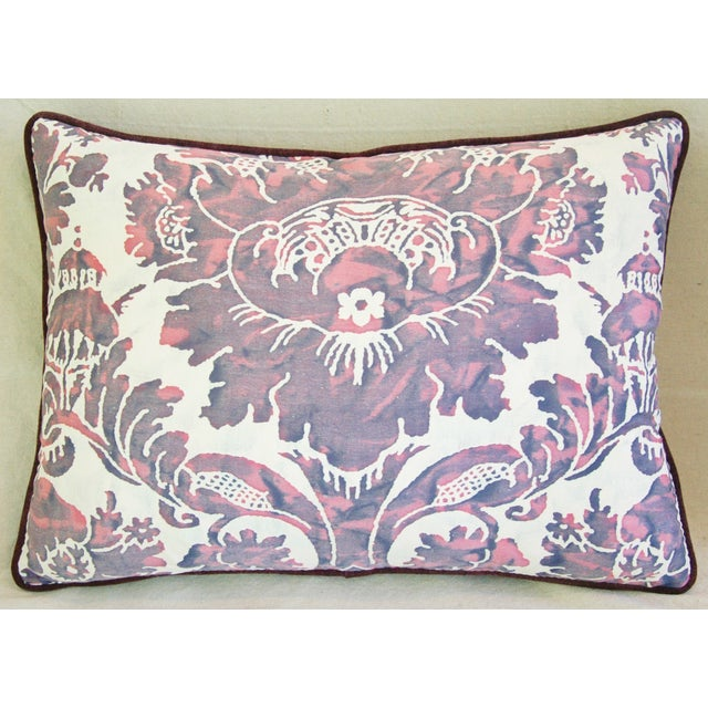 Designer Italian Fortuny Vivaldi Pillows - A Pair - Image 7 of 11