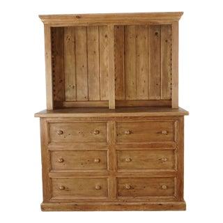 Harvest Furniture Wooden Hutch For Sale