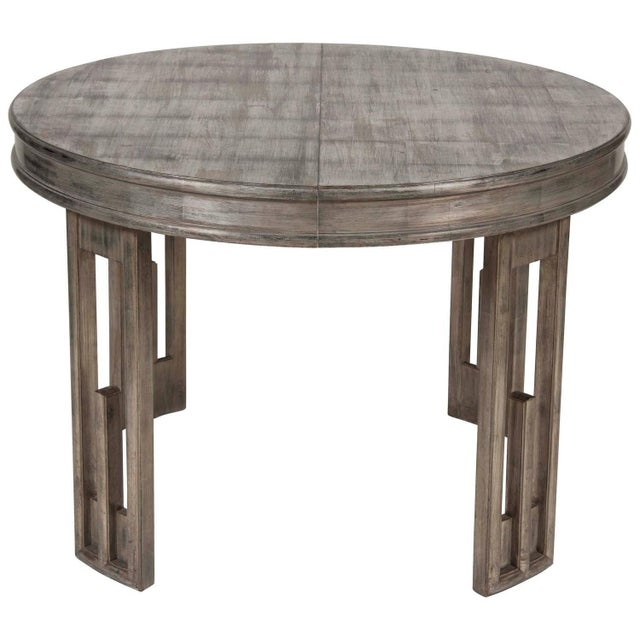 Silver Leaf Dining Table by James Mont For Sale - Image 13 of 13