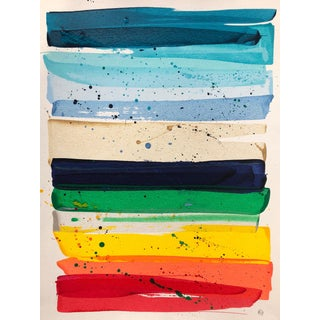 Katy Garry Rainbow Love Contemporary Painting For Sale