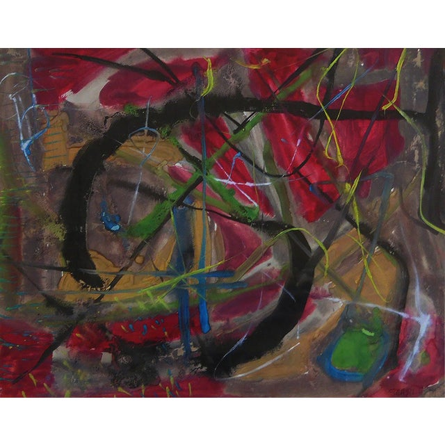 Rolph Scarlett Abstract Composition Painting For Sale - Image 4 of 4