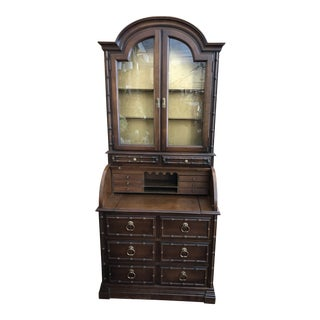 20th Century Traditional Jasper Cabinet Secretary Desk For Sale