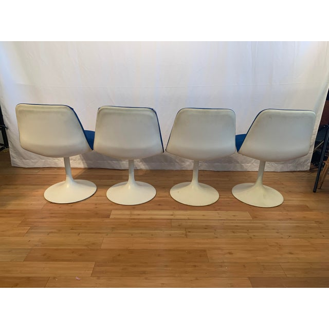 1960s 1960s Vintage Borje Johanson Swivel Chairs- Set of 4 For Sale - Image 5 of 10