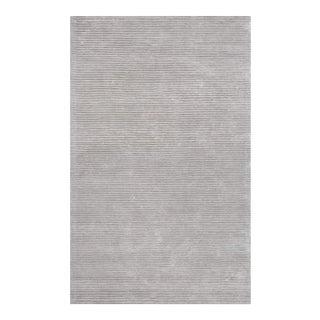 "Edgy Hand Tufted Bamboo Silk & Wool Rug- 9' 9"" x 13' 9"""