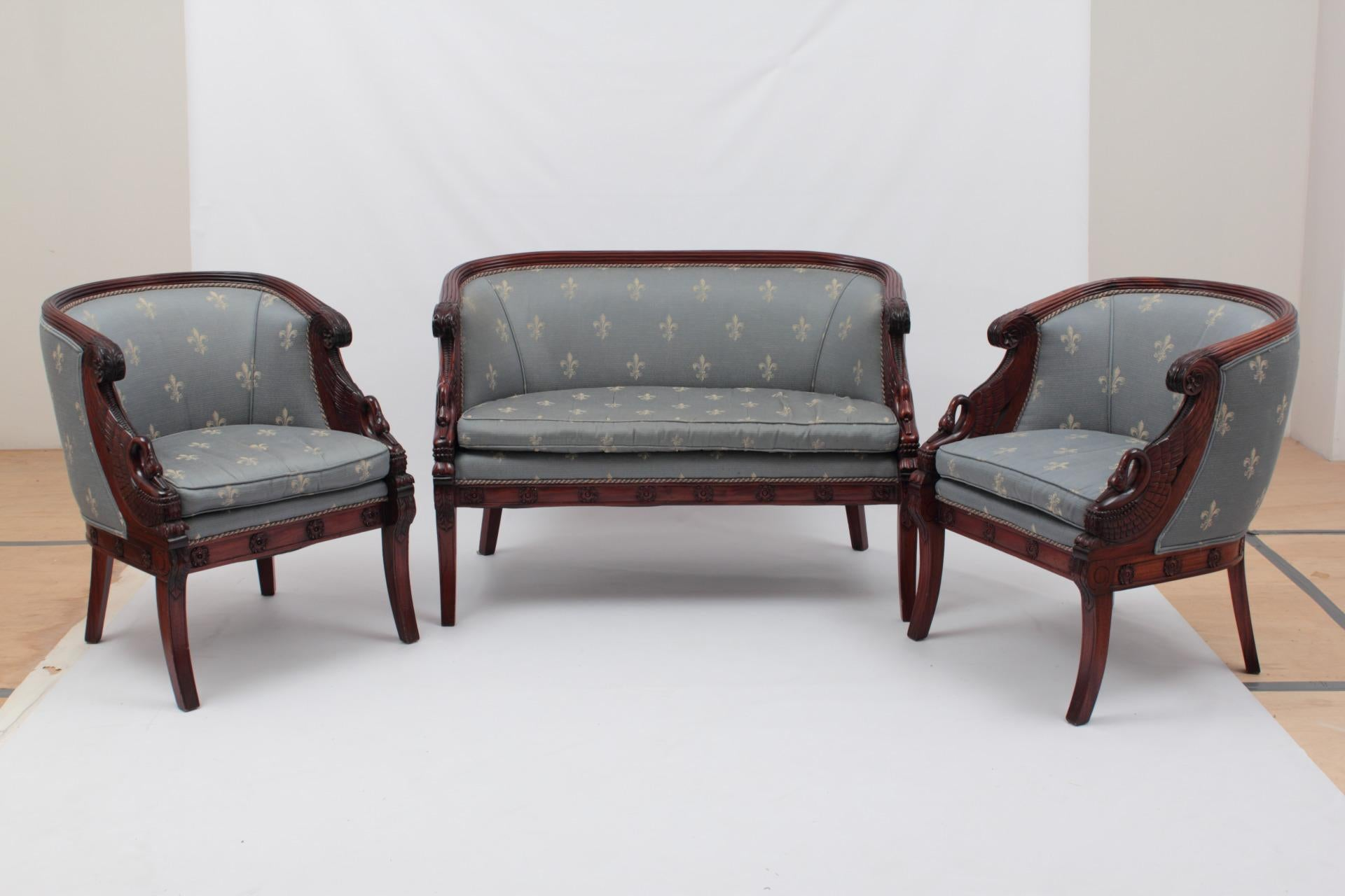 Attirant Empire Style Sofa U0026 Chairs   Set Of 3   Image 2 ...