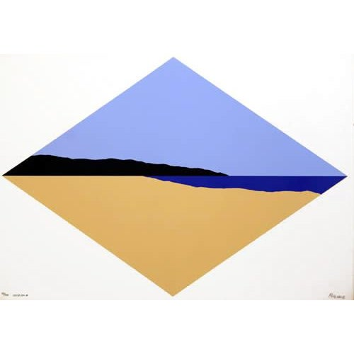 "Modern 1968 Steve Poleskie ""Winona"" Print For Sale - Image 3 of 3"