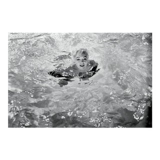 Photograph of Marilyn Monroe Swimming by Lawrence Schiller For Sale