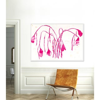 """XL """"Pink Daffodil"""" Print by Kate Roebuck, 60"""" X 43"""" Preview"""