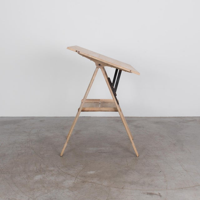 1920s Belgian Drawing Table For Sale - Image 4 of 6