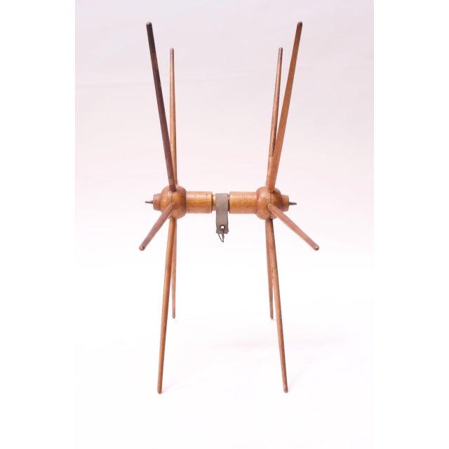 Vintage Primitive Yarn Winder / Yarn Swift For Sale - Image 4 of 13