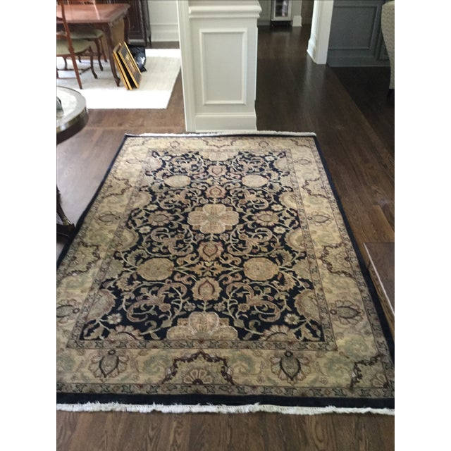 Traditional Ethan Allen Rug - 5′10″ × 8′9″ For Sale - Image 3 of 7