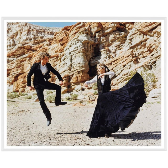 "Vogue Magazine ""Dancing"" Photograph by Arthur Elgort For Sale"