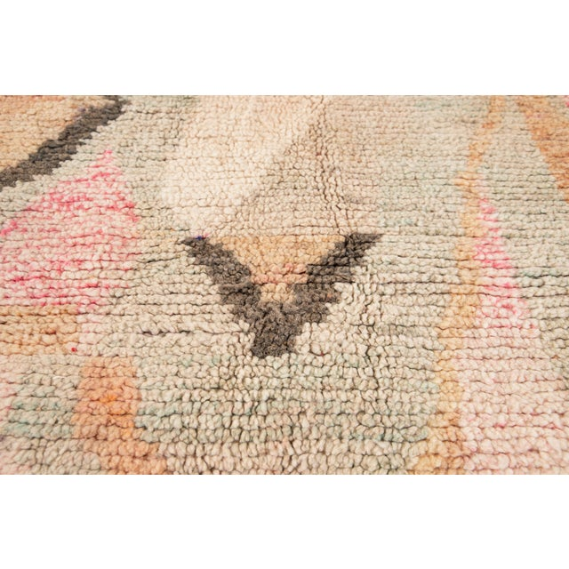 Vintage Azilal Moroccan Wool Rug For Sale - Image 9 of 13