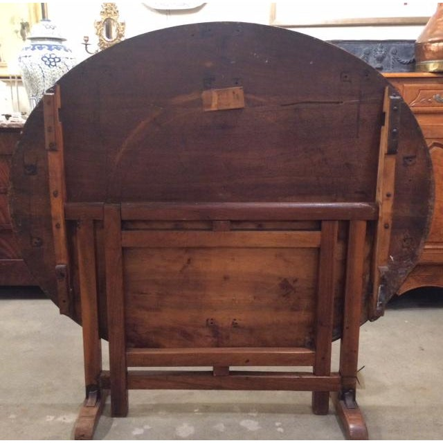 Late 19th Century Antique French Wine Tasting Table For Sale In Birmingham - Image 6 of 9