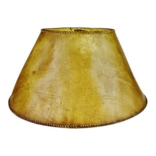 Vintage Animal Hide lampshade For Sale