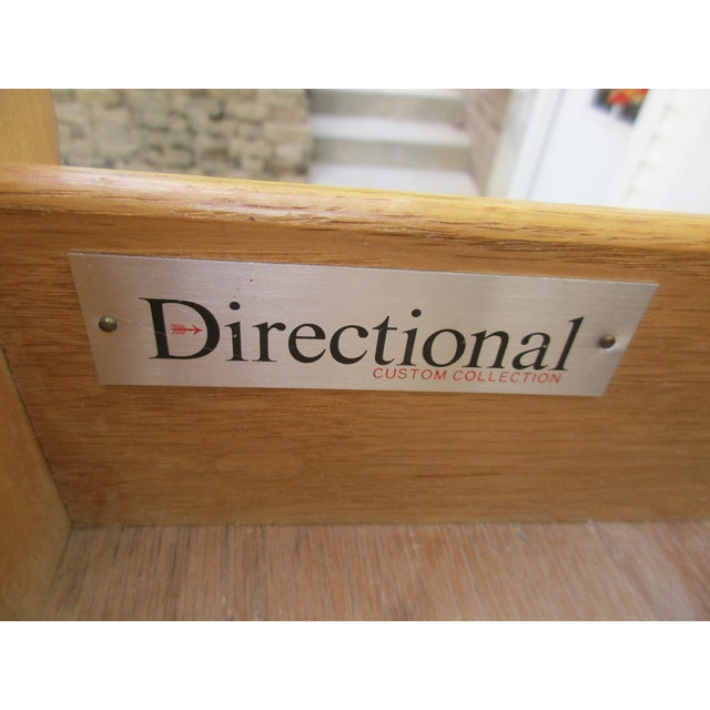 Cane Front Eight Drawer Dresser by Directional For Sale - Image 10 of 12
