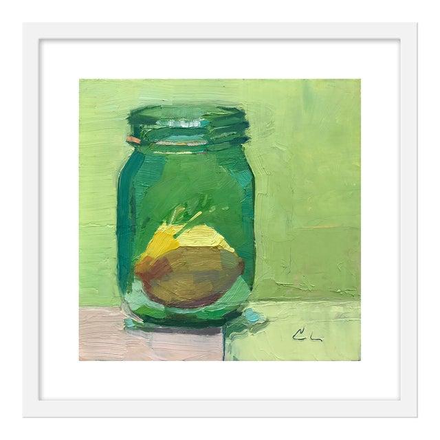 "Small ""Lemon in Jar"" Print by Caitlin Winner, 20"" X 20"" For Sale"