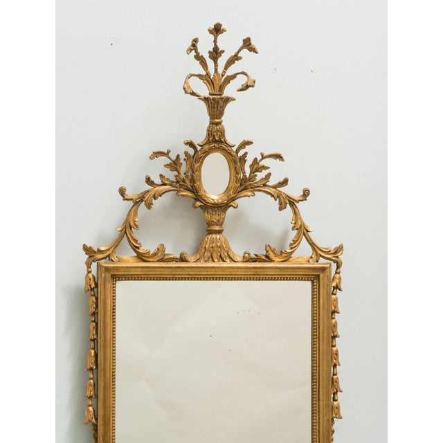 1960s Italian Giltwood Mirror For Sale - Image 5 of 8