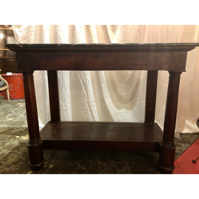 French Empire Country Console For Sale - Image 11 of 12