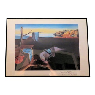 "Vintage Salvadore Dali ""Clocks"" Print For Sale"