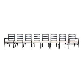 Robsjohn Gibbings for Widdicomb Mid-Century Modern Dining Chairs, Set of Eight For Sale
