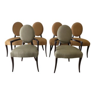 Elegant Baker Barbara Barry Dining Chairs - a Set of 6 For Sale