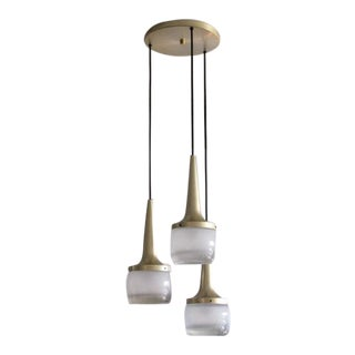 Large Staff Brass Pendant Lights