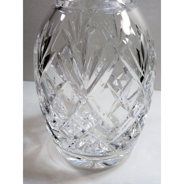 Royal Doulton England Cut Lead Crystal Decanter For Sale - Image 9 of 9