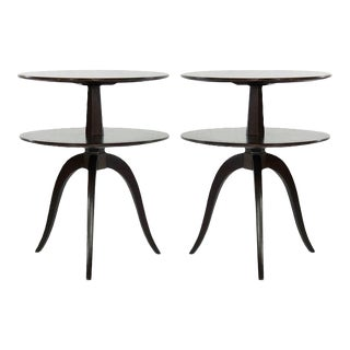 Side Tables by Paul Frankl for Brown Saltman, C. 1950s - a Pair For Sale