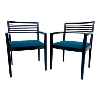 Vintage Ricchio for Knoll Studios Armchairs - a Pair For Sale