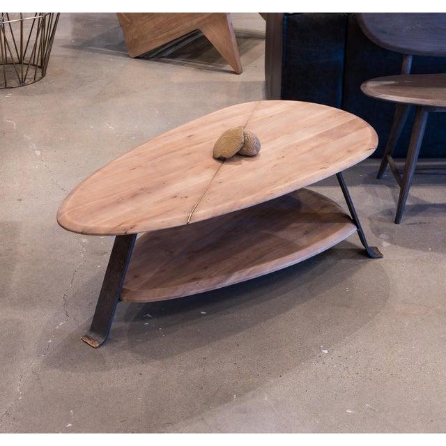 Metal Pebble Coffee Table For Sale - Image 7 of 8
