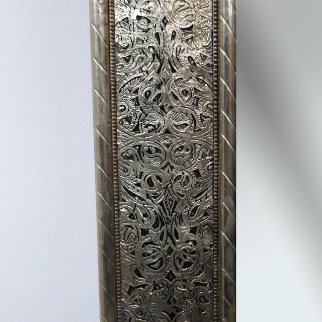 Nickel Mirror Frame - Image 3 of 3
