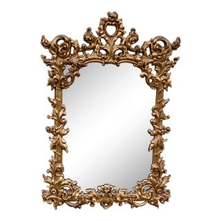 Mid 20th Century Rococo Wall Mirror by Turner For Sale