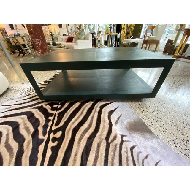 Vintage Karl Springer Cocktail Coffee Table For Sale In West Palm - Image 6 of 13