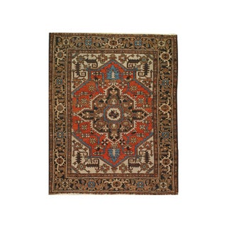 Antique Heriz Rug For Sale