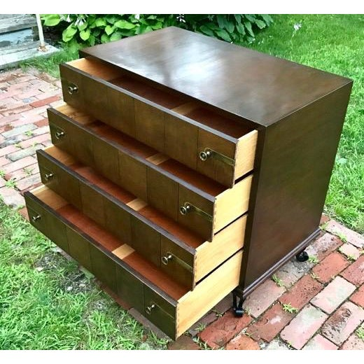 Mid Century Renzo Rutili for Johnson Furniture Modular Cabinet Grouping 1950's For Sale In Boston - Image 6 of 12