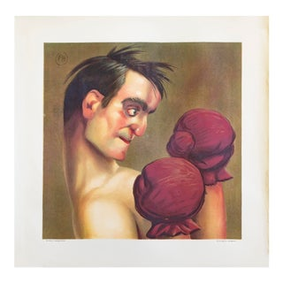 1900 Original French Boxing Poster For Sale