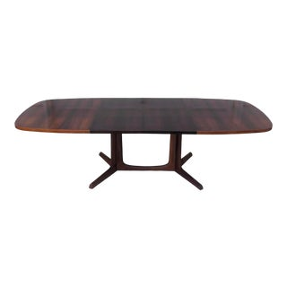 Mid-Century Rosewood Dining Table by Niels Koefoed Hornslet For Sale