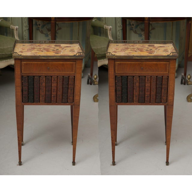 Pair of Mahogany Louis XVI Style Cabinets For Sale - Image 11 of 11