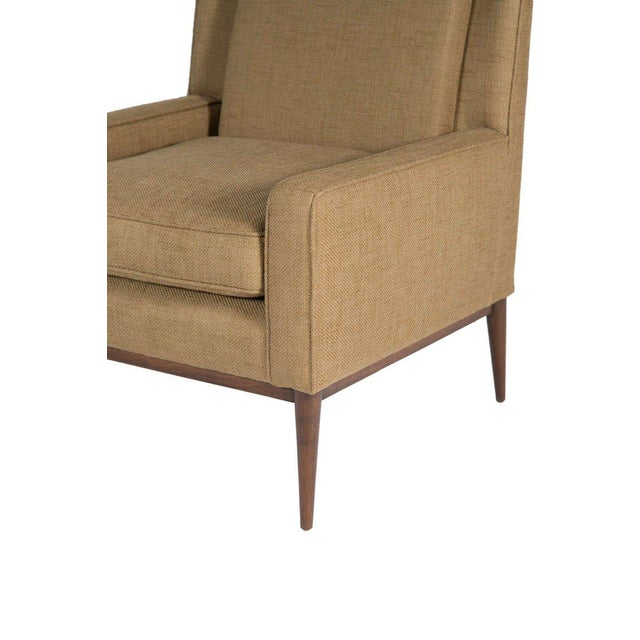 Modern Customizable Bernard High Back Club Chair For Sale - Image 3 of 5