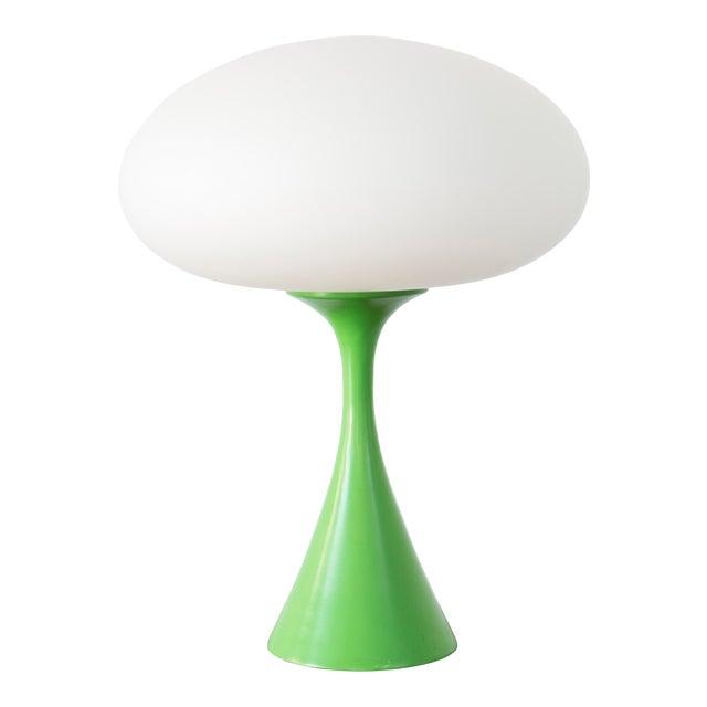 Rare Green Laurel Mushroom Lamp - Image 1 of 6