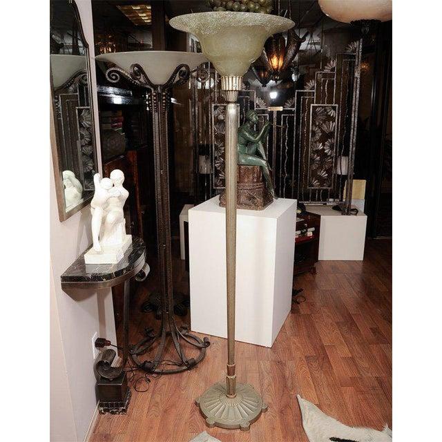 Art Deco Floor Lamp For Sale In New York - Image 6 of 6