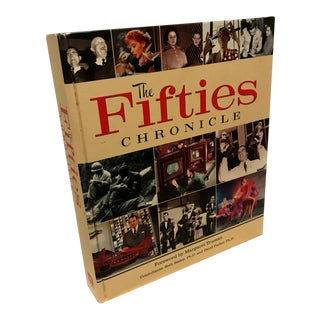 The 50s Chronicle Oversized Coffee Table Book For Sale