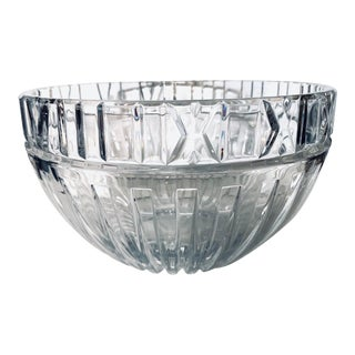 Tiffany Atlas Crystal Bowl For Sale