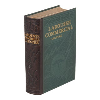 French Book- Larousse Commercial Illustre, 1930 For Sale